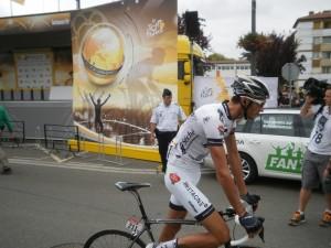 Une journée sur le Tour de France