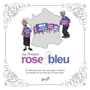 La France rose et bleue