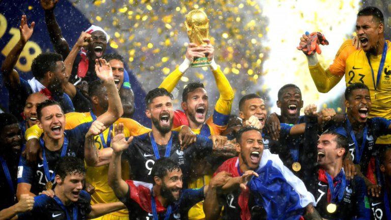 20 ans après, à nouveau Champions du Monde